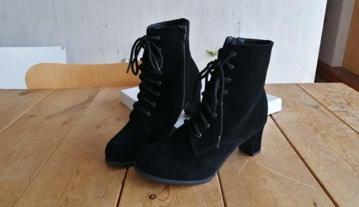 【ブーツ・レビュー】編上げブーツ 6cm ラウンドトゥ | 靴紐がいまいちなので交換してみようと思います