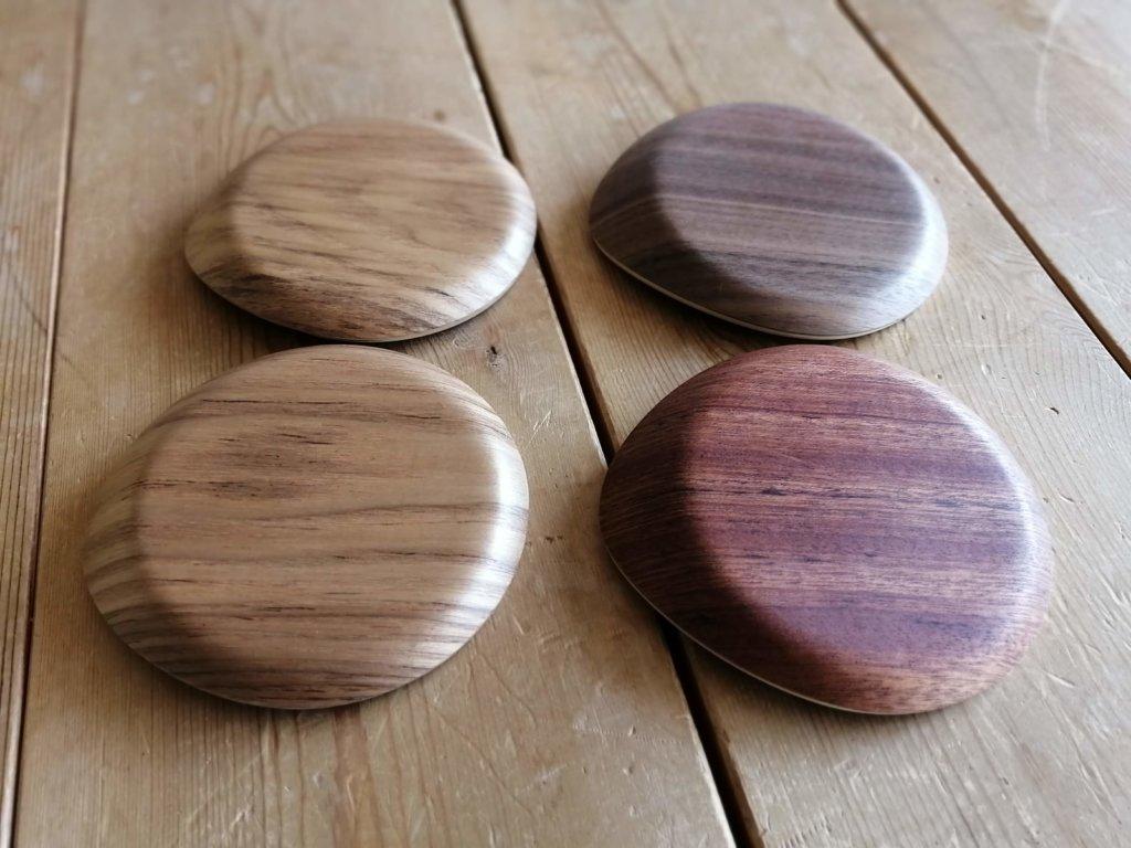 木製コースター いろいろな角度から